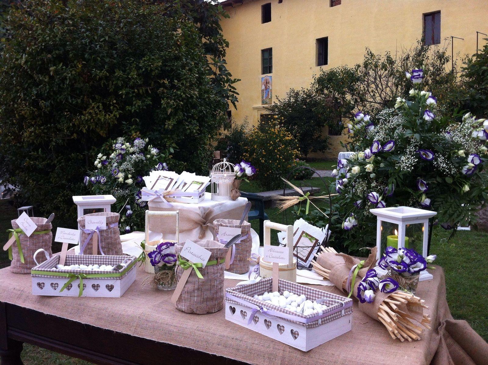 Tavolo sposi ~ Tavolo confettata per matrimonio country www.stampaecrea.it