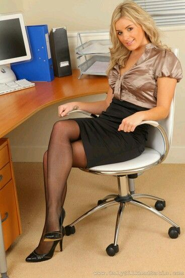 woman pantyhose business Sexy in