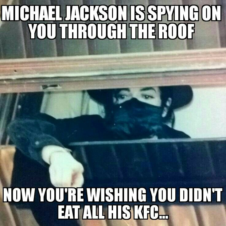 And This Is Why You Don T Eat Mjs Kfc Hewillfindyou Michael Jackson Funny Face Michael Jackson Funny Michael Jackson