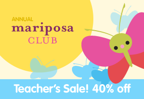40% off the annual Mariposa Club! For the month of January only ...