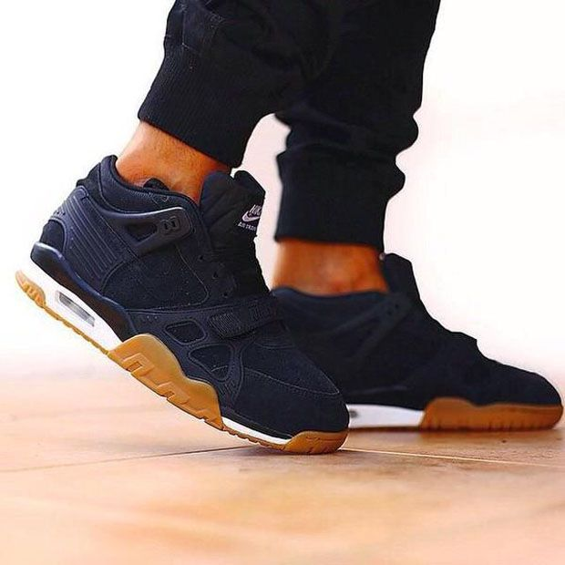 low priced b84a9 87372 Nike Air Trainer 3 NavyGum Mode Man, Chaussure Basket, Chaussures Homme