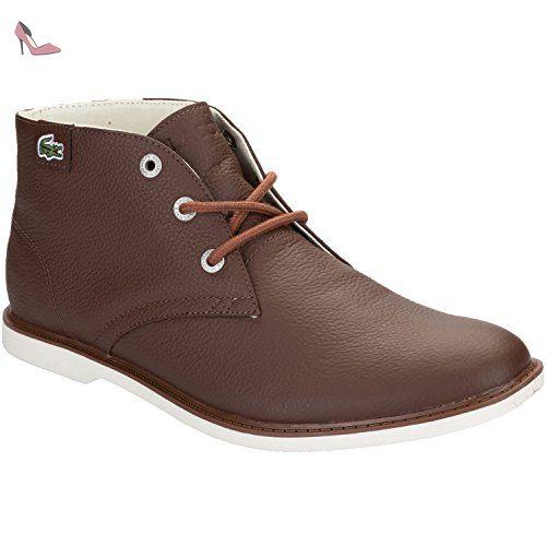 cce1177de7 Bottines junior Lacoste Sherbrooke pour garçon en marron - Chaussures  lacoste (*Partner-Link