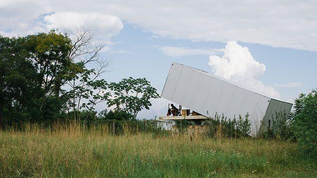 La Caja Oscura de Javier Corvalán, Asunción, Paraguay by Pedro Kok.