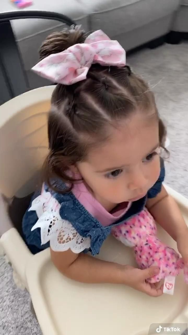 Cute hairstyle for toddlers!