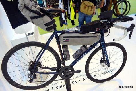 Josh Ibbett's Transcontinental winning Mason bike