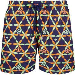 Herren Bademode - Men Swimwear Embroidered Solid - Limited Edition - Badeshorts - Mistral - Blau - S
