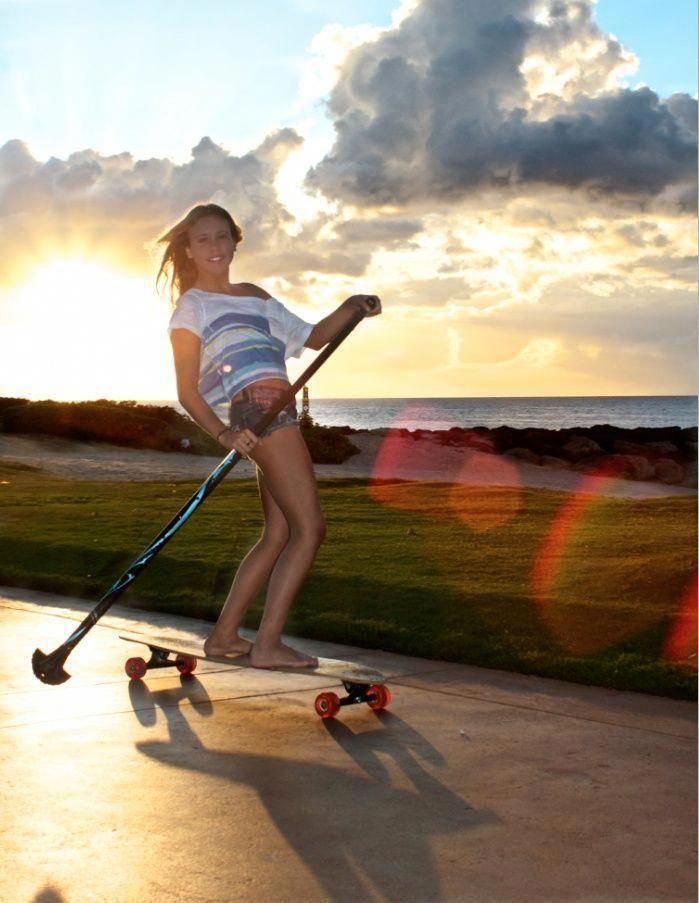 Ride into the sunset ! #surfing, #paddleboarding, #longboarding, #sup,#skateboarding, #extremesports...