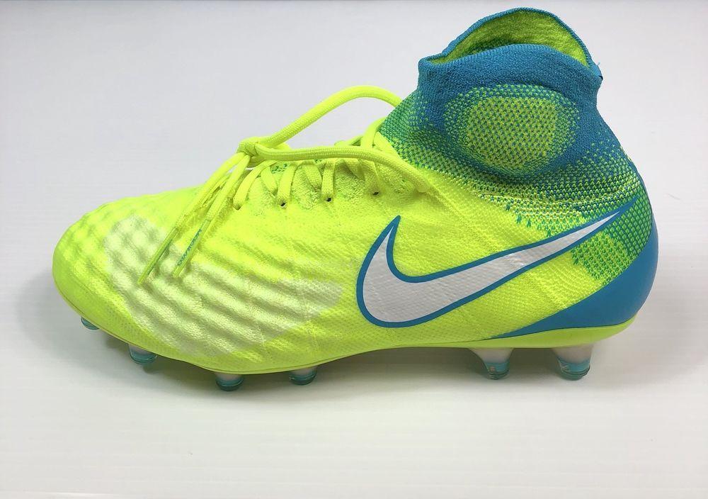 online retailer 14959 8d248 Womens Nike Magista Obra II 2 FG Soccer Cleats Volt White 844205-717 Size 9    eBay
