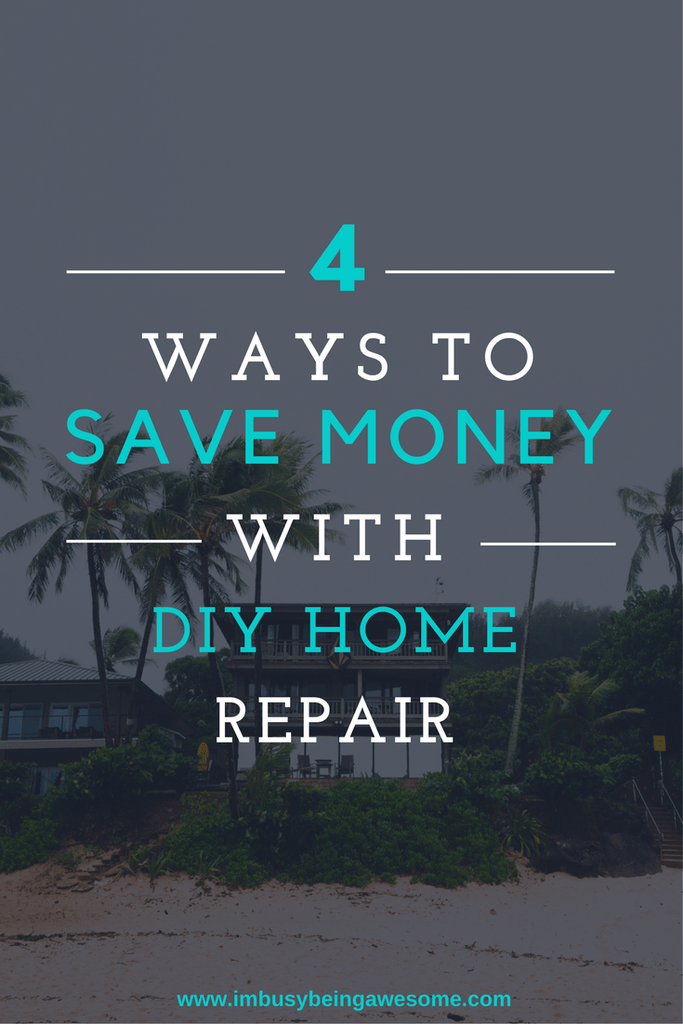 Four home repairs you can do yourself frugal living saving money dont call a handyman do it yourself 4 diy home improvement projects solutioingenieria Choice Image