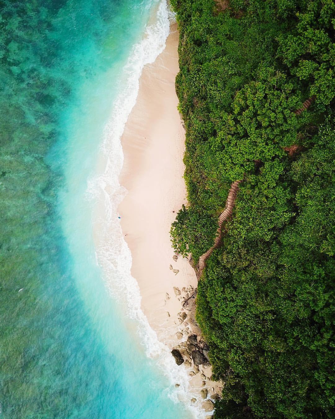 Green Bowl Beach.Green Bowl Beach Bali Indonesia In 2019 Bali Activities