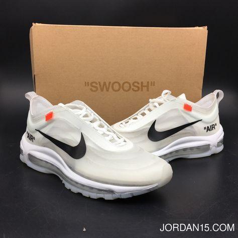 Off White x Nike Air Max 97 White For Sale – Hoop Jordan