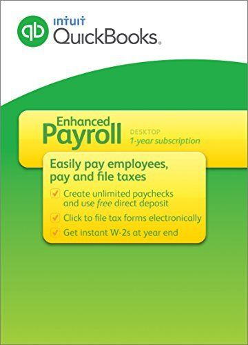 QuickBooks Payroll Enhanced 2015 by Intuit List Price $41400 - payroll forms free