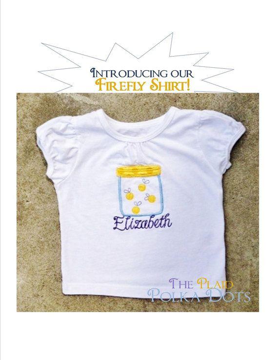 Firefly shirt  FREE Personalization  Perfect by ThePlaidPolkaDots, $20.00