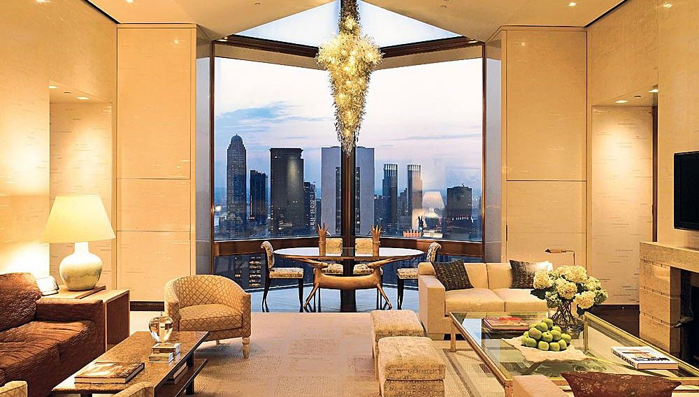 Ty Warner Penthouse At The Four Seasons Hotel New York