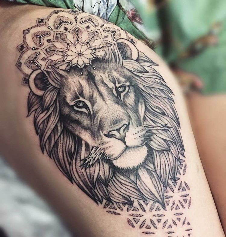 18 Amazing Leo Sleeve Tattoos: Lion I Don't Think I Have Ever Seen Such An Amazing Lion
