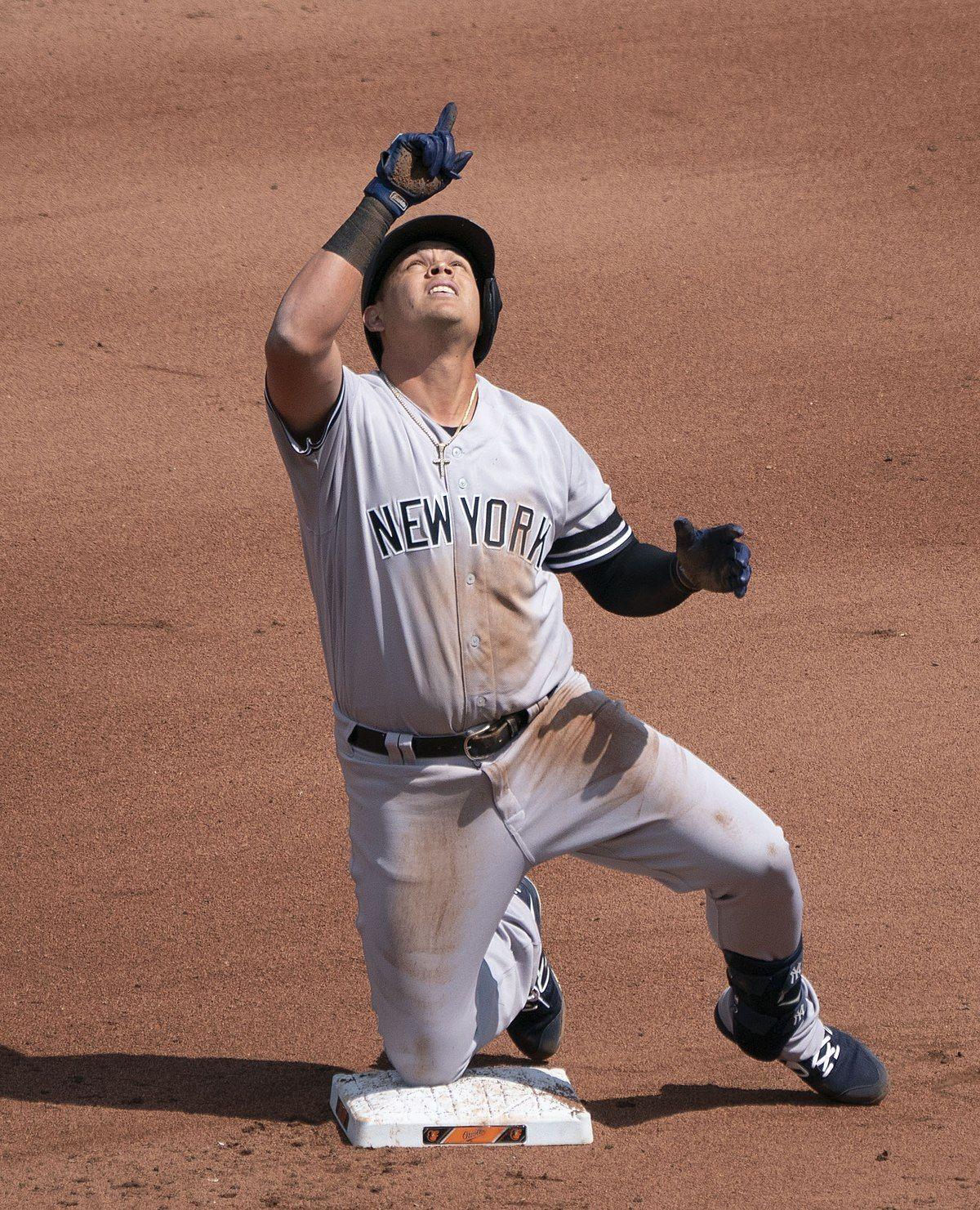 Gio Urshela Wikipedia New York Yankees Logo New York Yankees New York Yankees Baseball