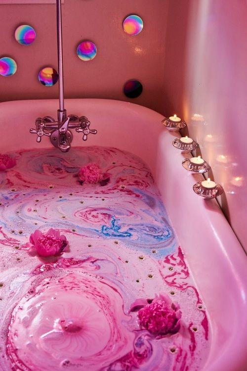 Bath Pink And Beauty Image Like Pink Aesthetic
