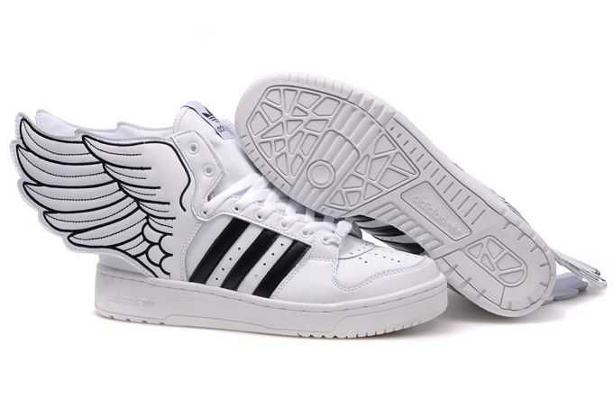 Carries New adidas kids Adidas Jeremy Scott Wings 2 0 Shoes White For