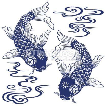 Japanese koi fish pattern google search patterns for Koi fish patterns