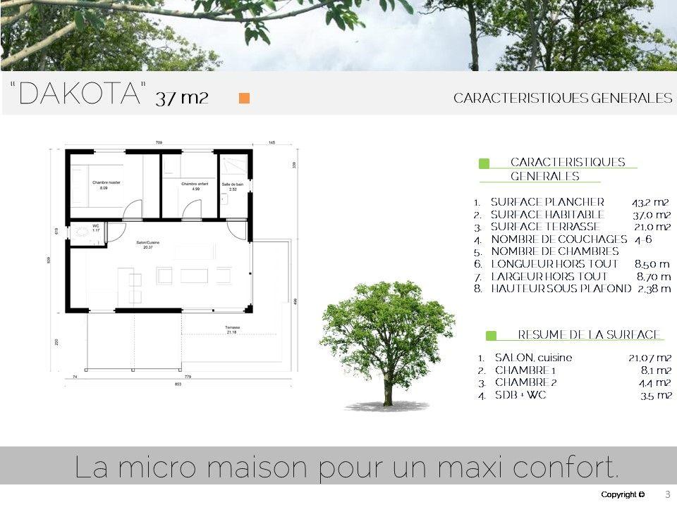 studio de jardin, HLL, maison ossature bois, bureau de jardin, HLL - Plan Maison En Longueur