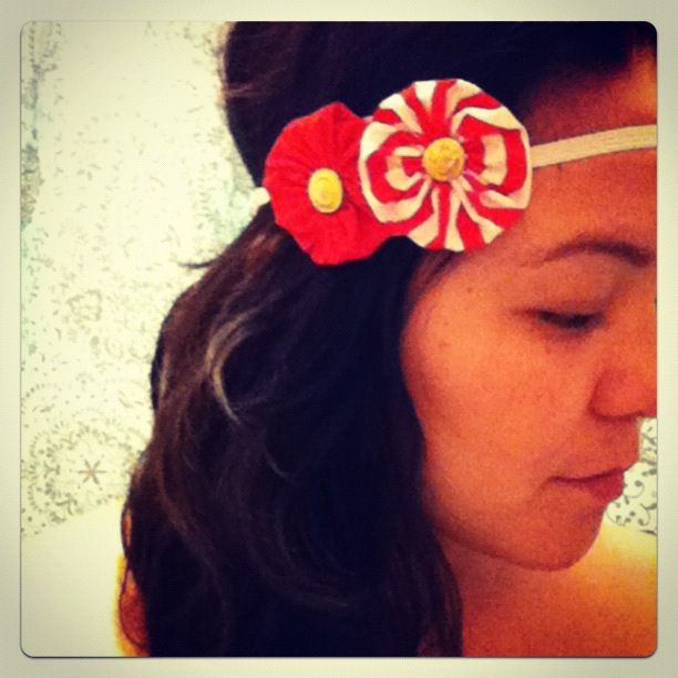 BOHO Candy Red Headband
