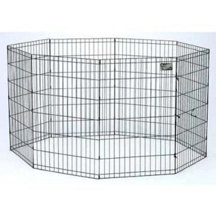 This Is An Option For Confining Some Dogs If You Don T Want To Use A Crate Works Better For Small Dogs Or Dogs That Wi Puppy Pens Dog Playpen Portable Dog