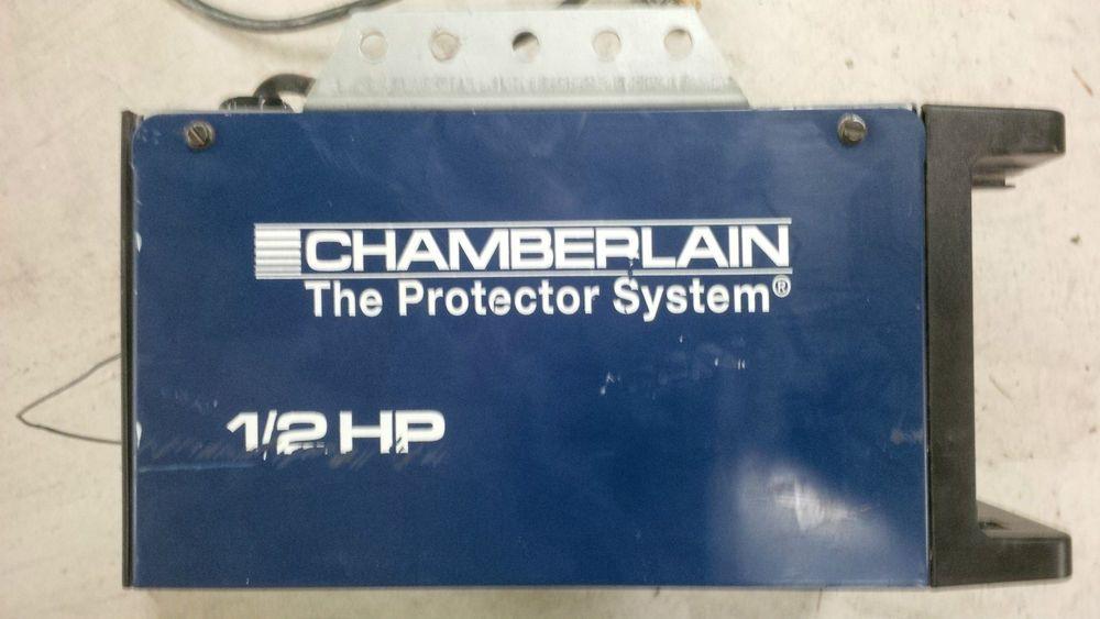 Chamberlain Garage Door Opener 1 2hp Motor Chamberlain Garage Door Chamberlain Garage Door Opener Garage Door Opener