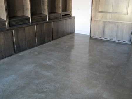 View A Beautiful Sealed Concrete Floor November 2009 Job