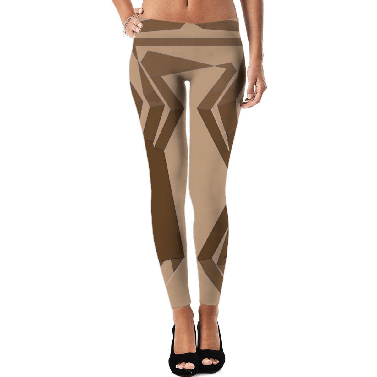Sophisticated Chocolate Leggings |Ocdesignzz