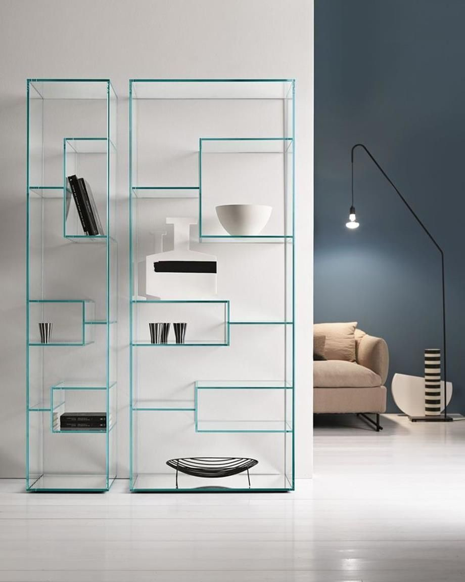 39 Ideas For Glass Shelves For Every Room Design Glass Wall Shelves Glass Furniture Interior