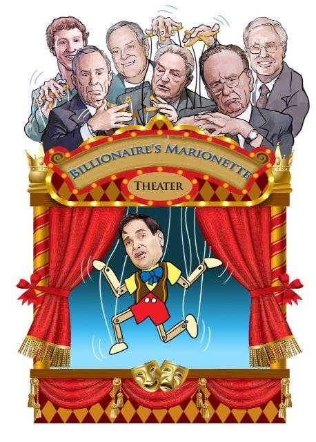 Rubio cartoon