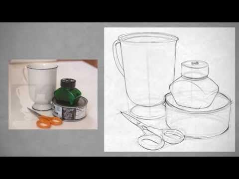 Drawing Shape Simple Still Life Youtube Still Life Drawing Still Life Art Easy Still Life Drawing