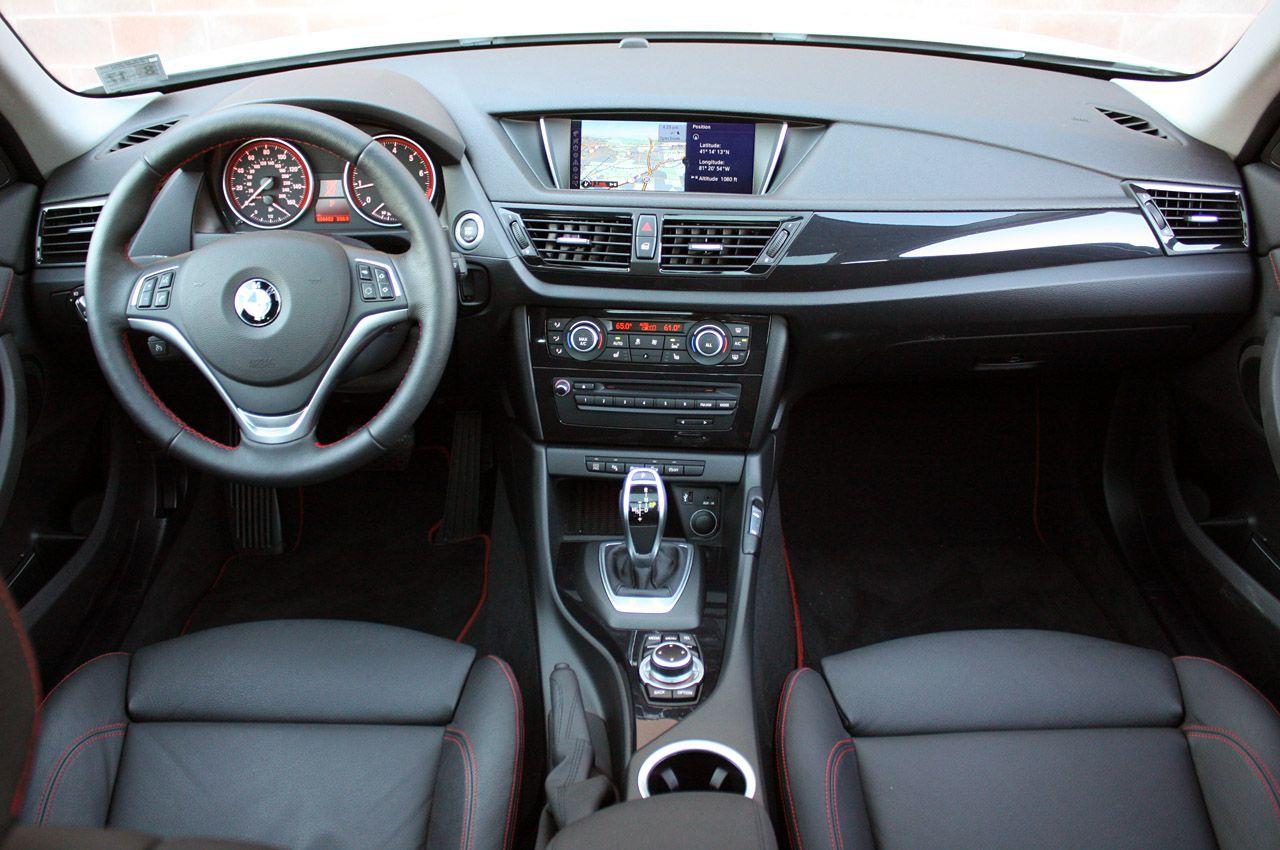 2013 BMW X1 Crossover, car, dashboard, interior