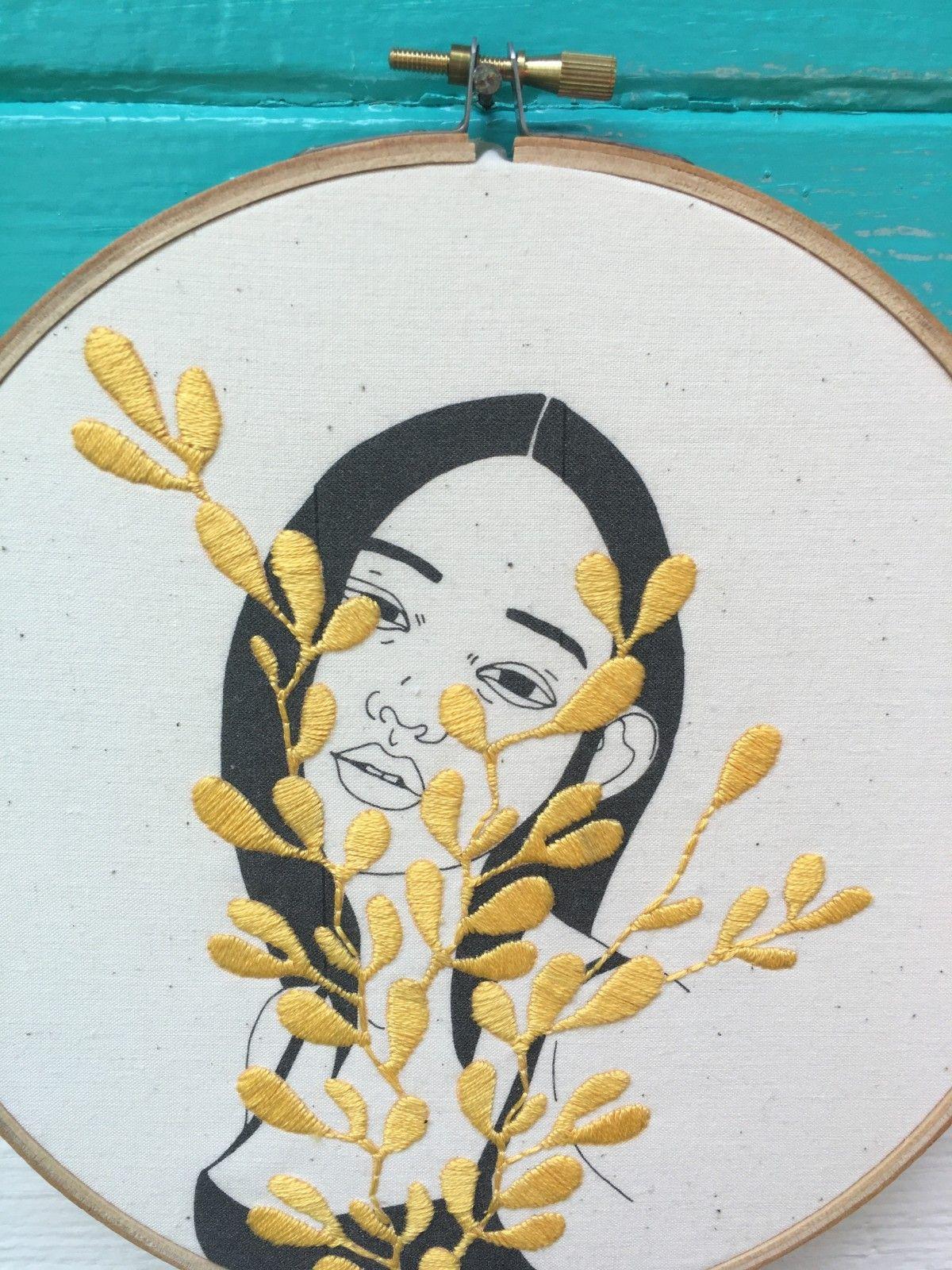 Odd Ana Stitch Portland Or Art Embroidery Pinterest