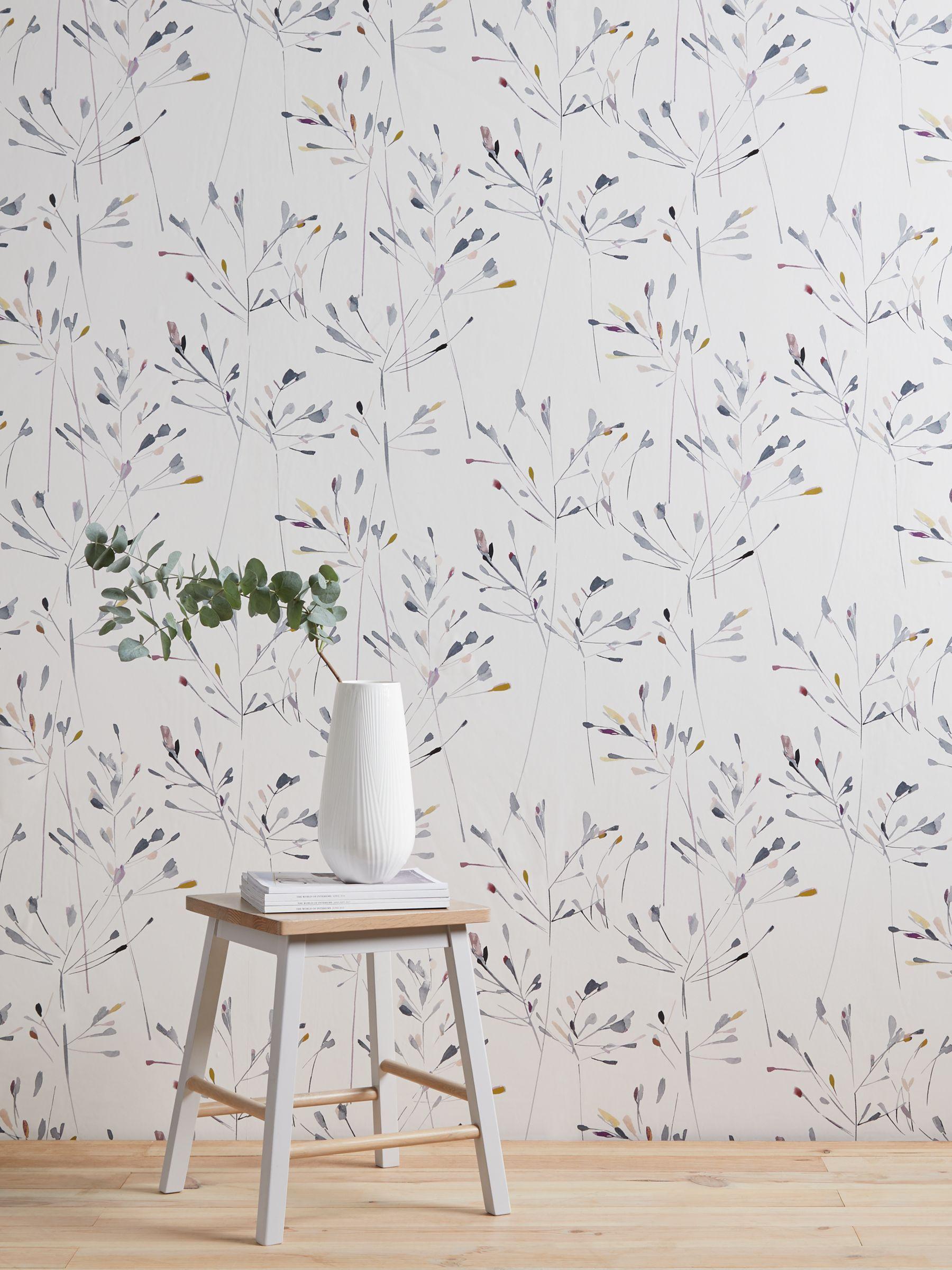 John Lewis Partners Nerine Wallpaper Multi Kitchen Wallpaper Ideas Uk Modern Floral Wallpaper Kitchen Wallpaper