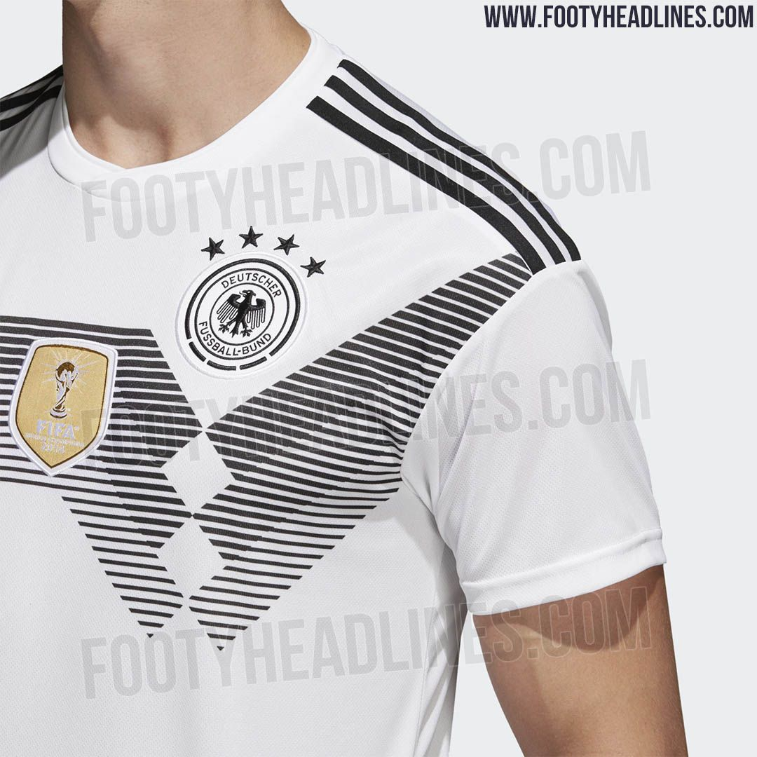 The Germany 2018 World Cup Kit Brings Back One Of The Country S Most Iconic Jersey Designs Of All Time World Cup Jerseys World Cup Kits Jersey