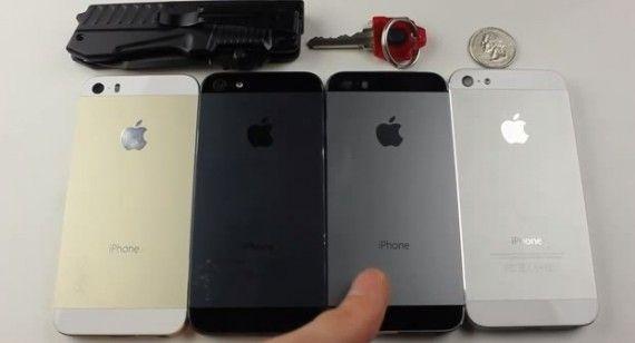 ¿Qué Color de iPhone 5s es más Resistente a los Arañazos?