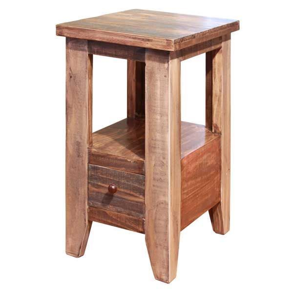 Antique Chair Side Table By Artisan Home By Ifd Is Now Available At American Furniture Warehouse