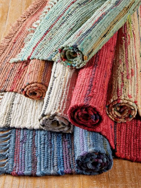 Sturbridge Woven Rag Rugs And Runners In 2021 Hand Woven Rag Rug Cotton Rag Rug Rag Rug