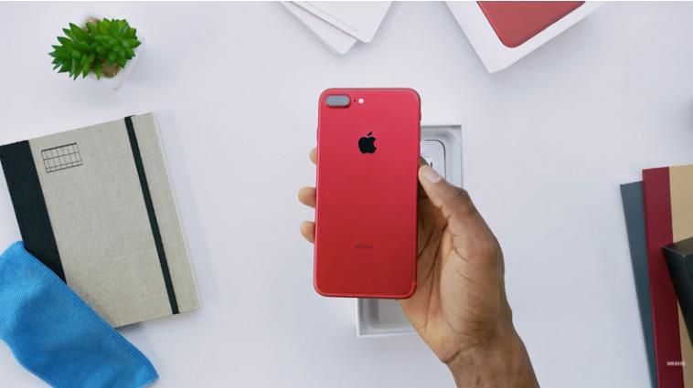 """Video : Unboxing iPhone 7 Plus """"Warna Merah (RED) Pertama ..."""