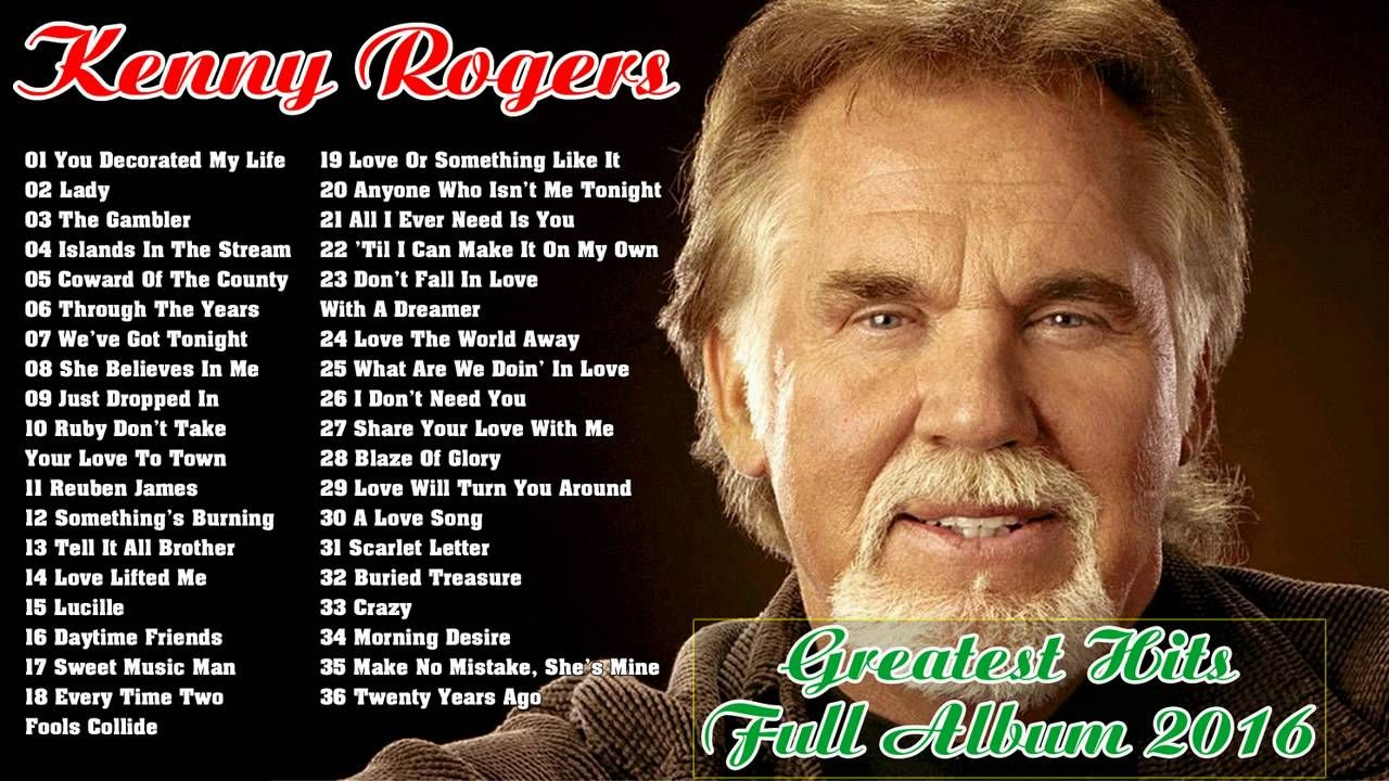 Kenny Rogers Greatest Hits Collection | Best Of Kenny Rogers | Music ...