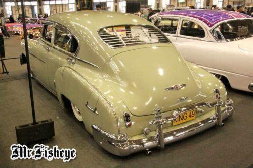 1949 1950 1951 1952 Chevy Fleetline Venetian Blinds