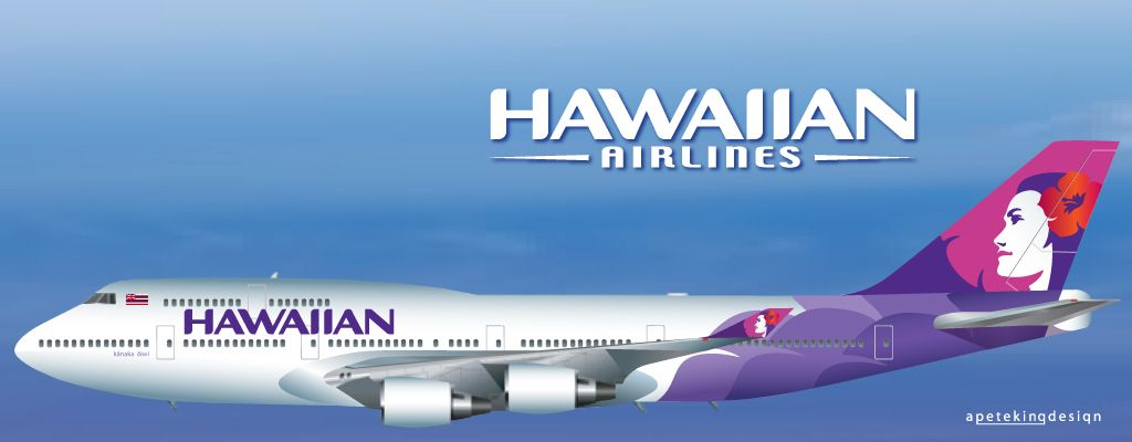 Hawaiian Airlines Boeing 747 400 What If Hawaiian Airlines
