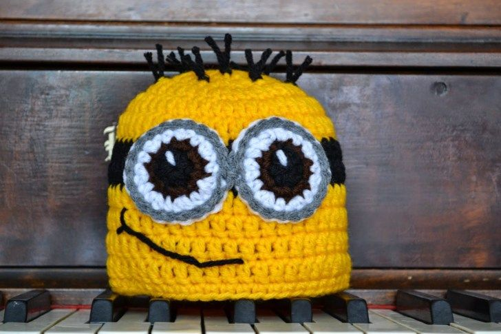 3 Cute Designs for Characters of Free Crochet Patterns for Minions Knotty Knotty Crochet Minions Oh Minions Free Pattern #minioncrochetpatterns