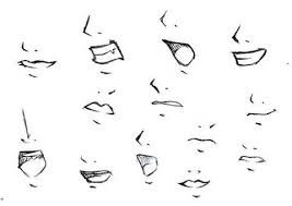 How To Draw Anime Mouths Female Mouth Drawing Anime Nose Nose