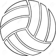 Coloriage Ballon De Volley.Comment Dessiner Un Ballon De Volley Recherche Google