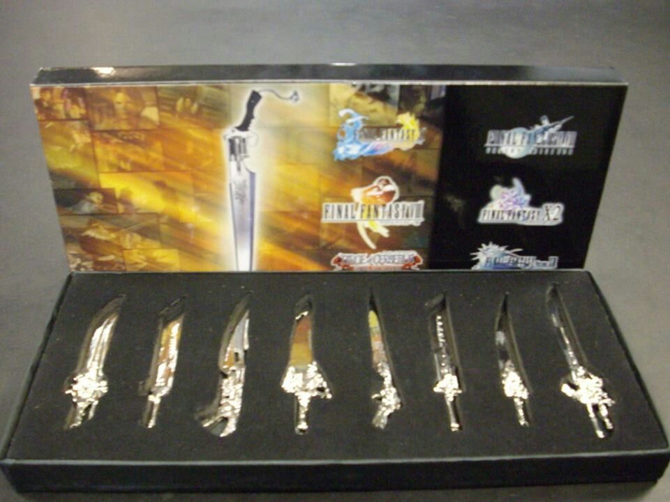 Final Fantasy sword collection