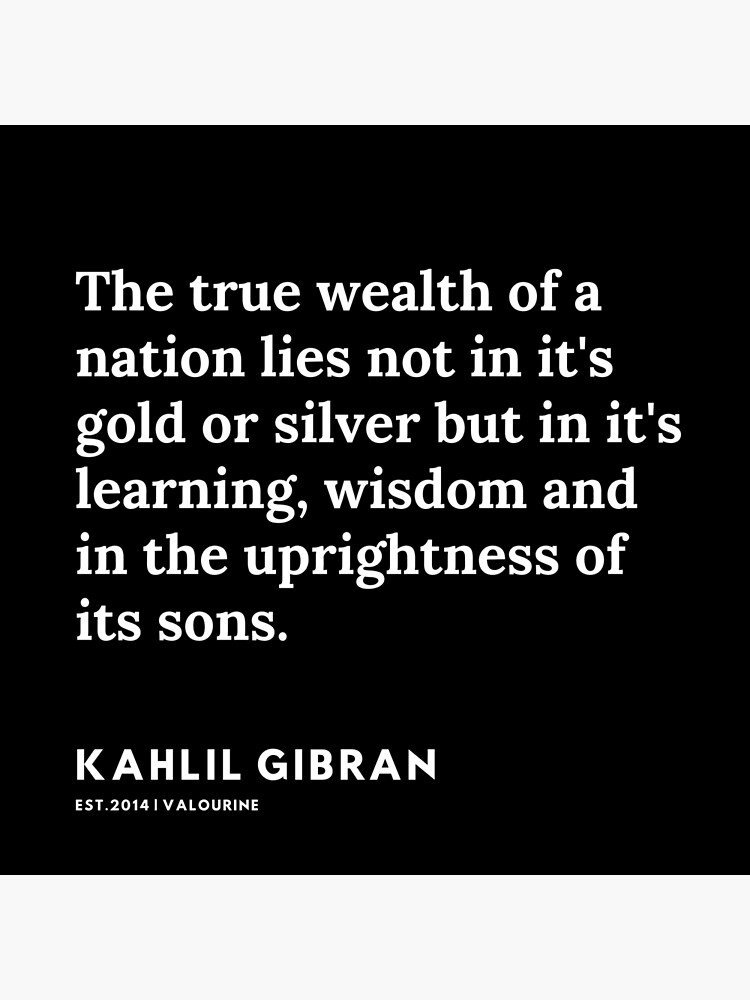 72 |  19119 | Kahlil Gibran Quotes  Poster by QuotesGalore