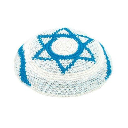 Flag of Israel Kippah | Jewish Holidays | Pinterest