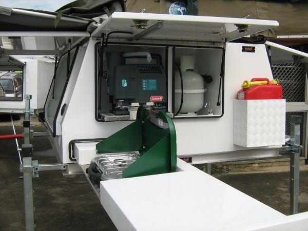 Liftoff Camper - Slideon Camper - Custom Campers - Roof Top Tent - Camper trailer - Trayback Camper
